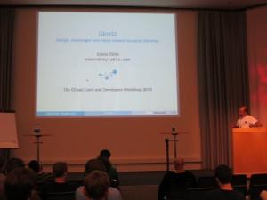 Edwin Török presenting the LibreS3 library